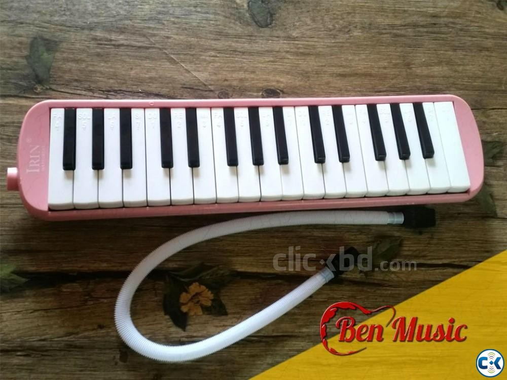 32 Keys Melodica Blowpipe Mouth Organ | ClickBD large image 1