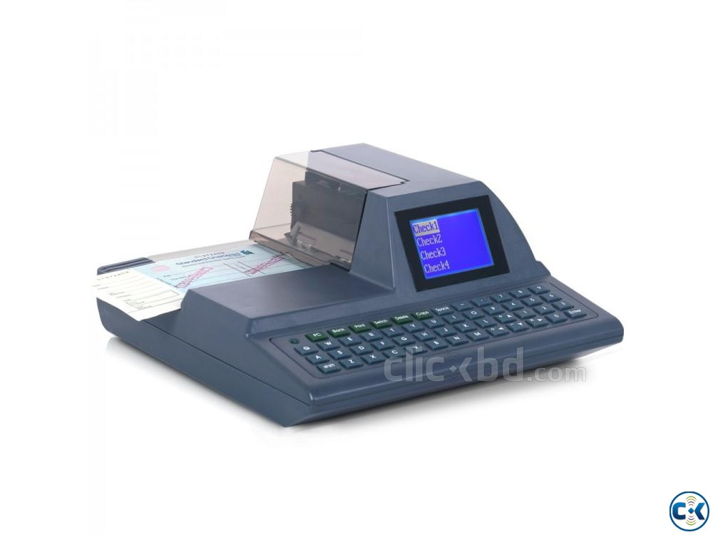 ASTHA CW 120FA Cheque Writing Printer | ClickBD large image 0
