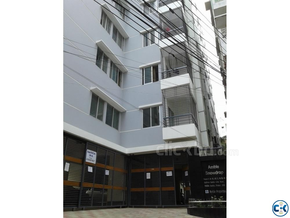 1200sft apartment used for sale at Gulshan Badda link road | ClickBD large image 0
