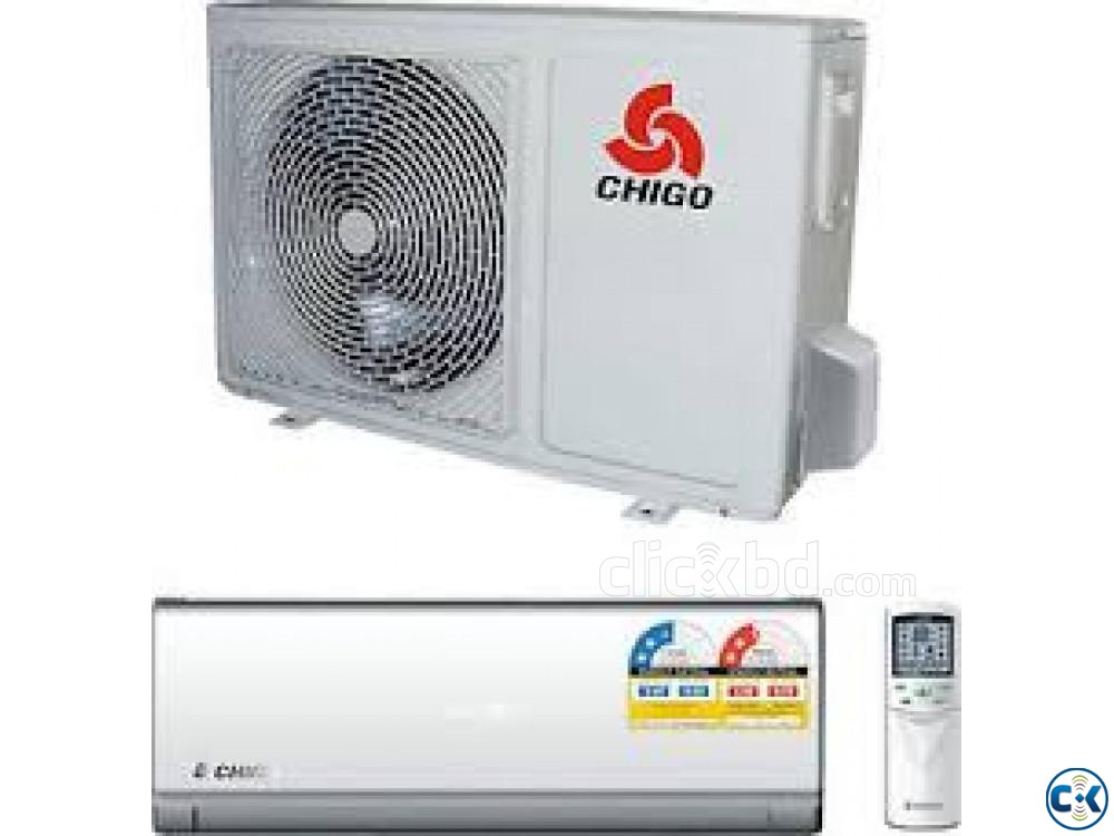 Chigo 18000 BTU 1.5 Ton Air Conditioner AC With warranty | ClickBD large image 0