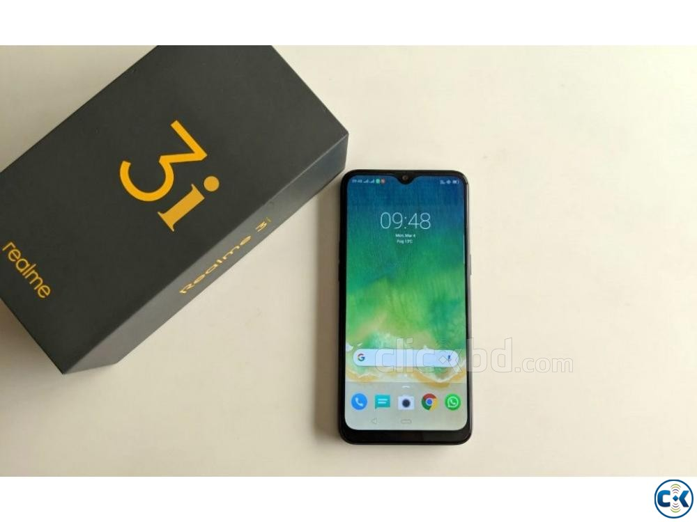 Brand New Realme 3i 32GB Sealed Pack 3 Yr Warranty | ClickBD large image 1