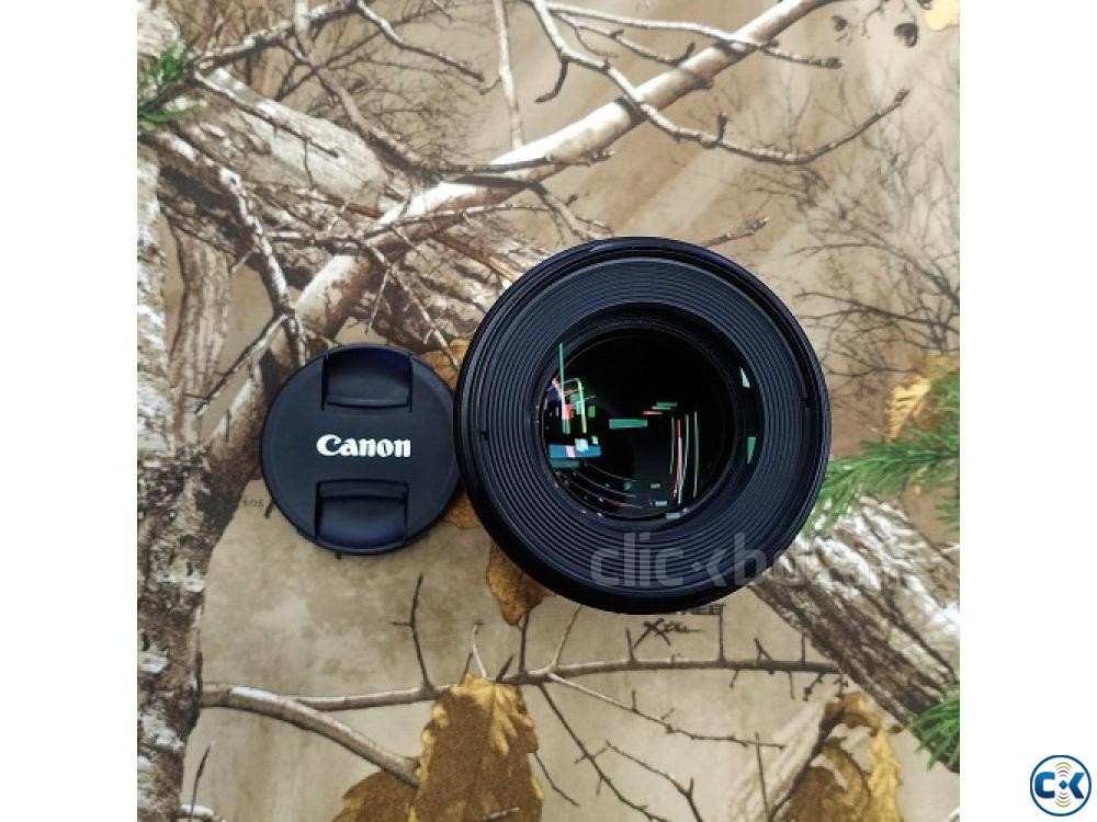 Canon EF 100mm f 2.8L Macro IS USM Professional Prime Lens | ClickBD large image 0