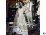 Sobia Nazir Embroidered Organza Unstitched 4 Piece Suit