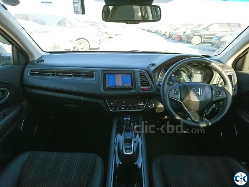 Honda Vezel Hybrid 2014 Z PAK Leather all Nickel | ClickBD large image 4