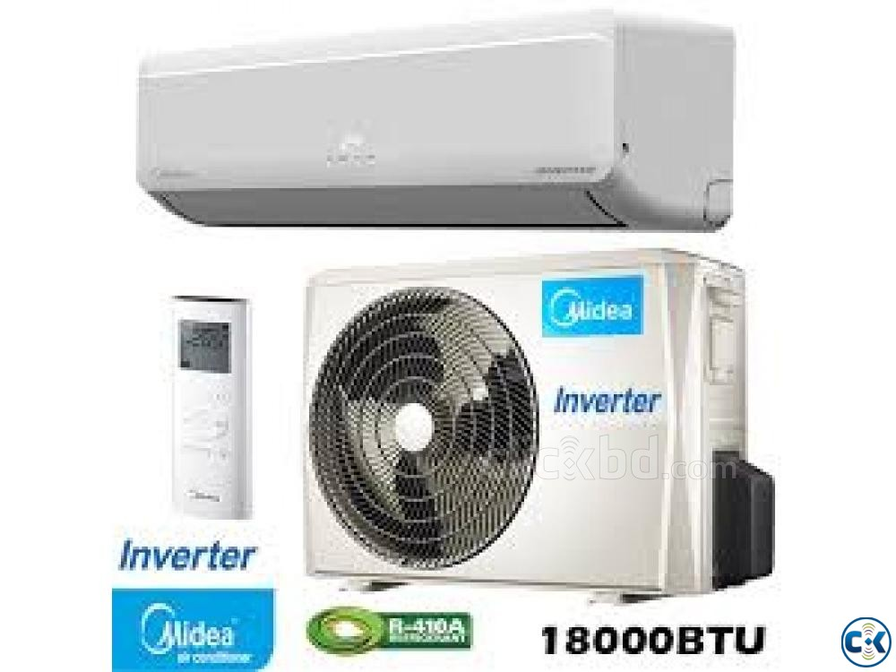 Midea 1.5 Ton Wall Type AC MSM-18CRI Inverter Series  | ClickBD large image 0