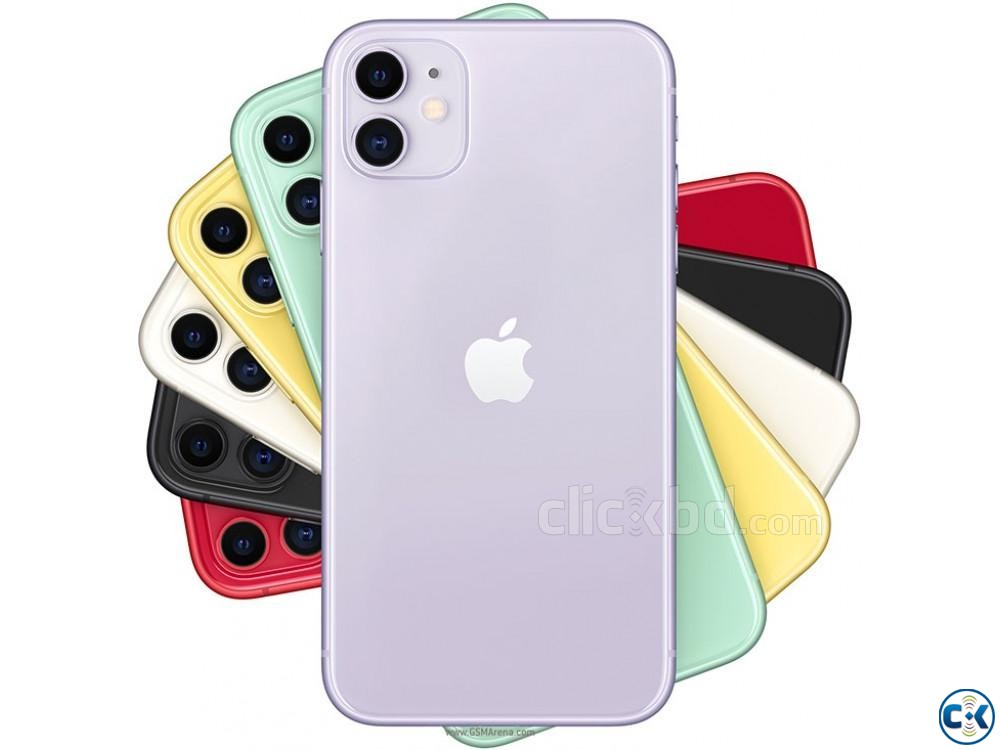 Apple iphone iphone 11 64GB Dual Sealed Pack 3 Yrs Warranty | ClickBD large image 0
