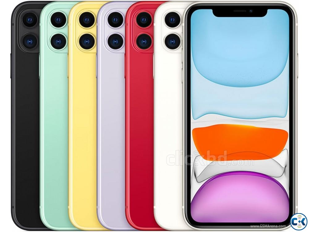 Apple iphone iphone 11 64GB Dual Sealed Pack 3 Yrs Warranty | ClickBD large image 1
