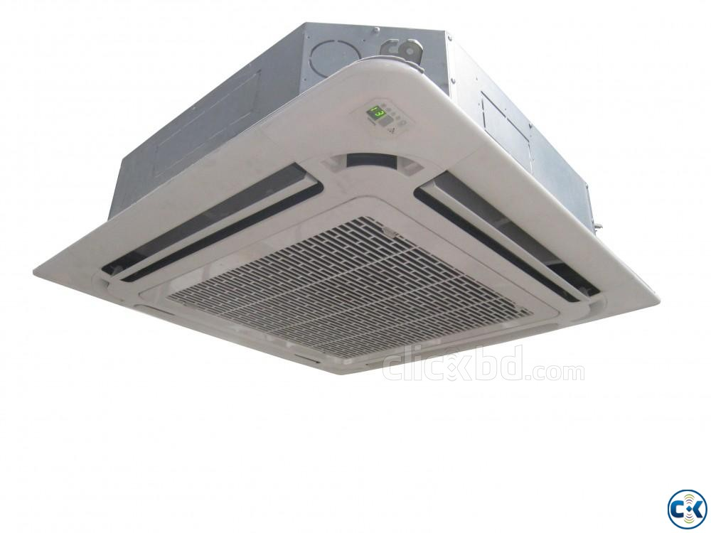 Midea Brand Ceiling Cassette Type 5.0 Ton Air Conditioner | ClickBD large image 0