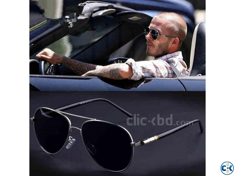 Men Fashion Sun glass Polarized | ClickBD large image 1