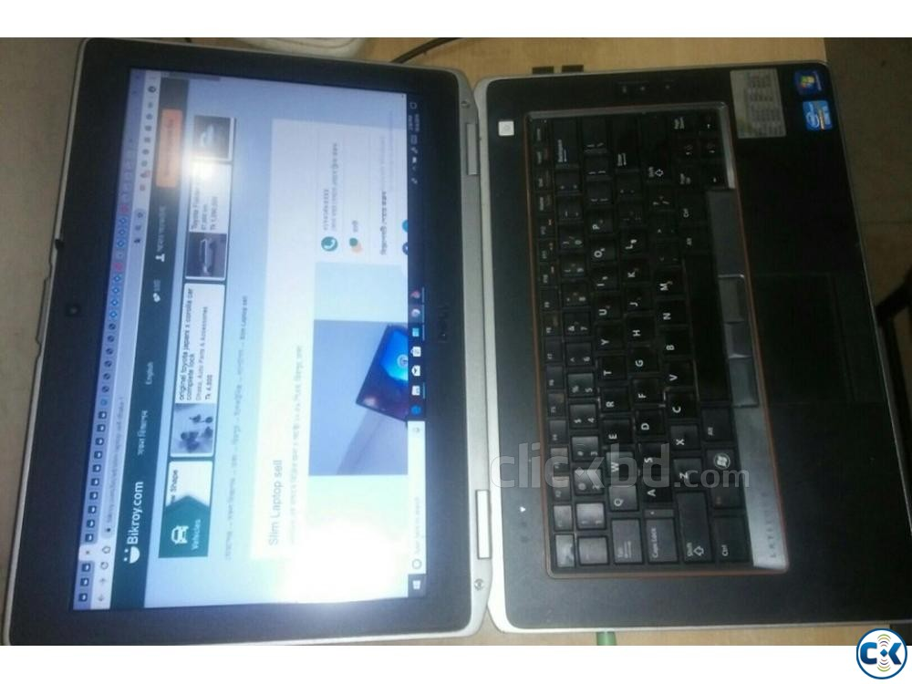 Dell Latitude-intel Core-i5 2nd genaration 8GB model-E6420 | ClickBD large image 0