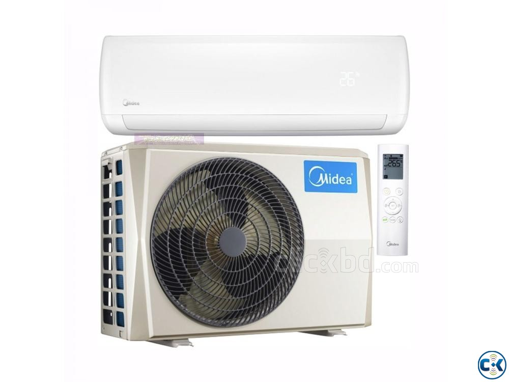 1.5 ton midea Hot and Cool Inverter Air-Conditioner MSM18HRI | ClickBD large image 0