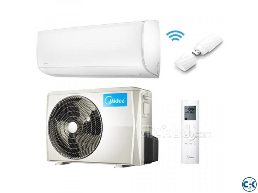 1.5 ton midea Hot and Cool Inverter Air-Conditioner MSM18HRI | ClickBD large image 3