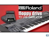 Floppy to USB Emulator With Pen-drive Roland Keyboard