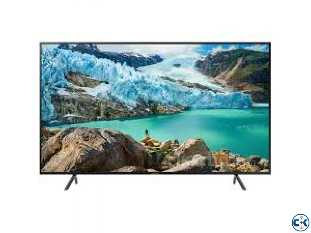 Samsung 55 Inch Flat Smart 4K UHD TV -55RU7100 - Model 2019 | ClickBD large image 0