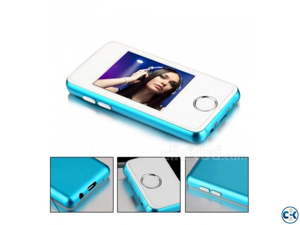 JS02 Full Touch Display MP4 Player 16GB FM | ClickBD large image 0
