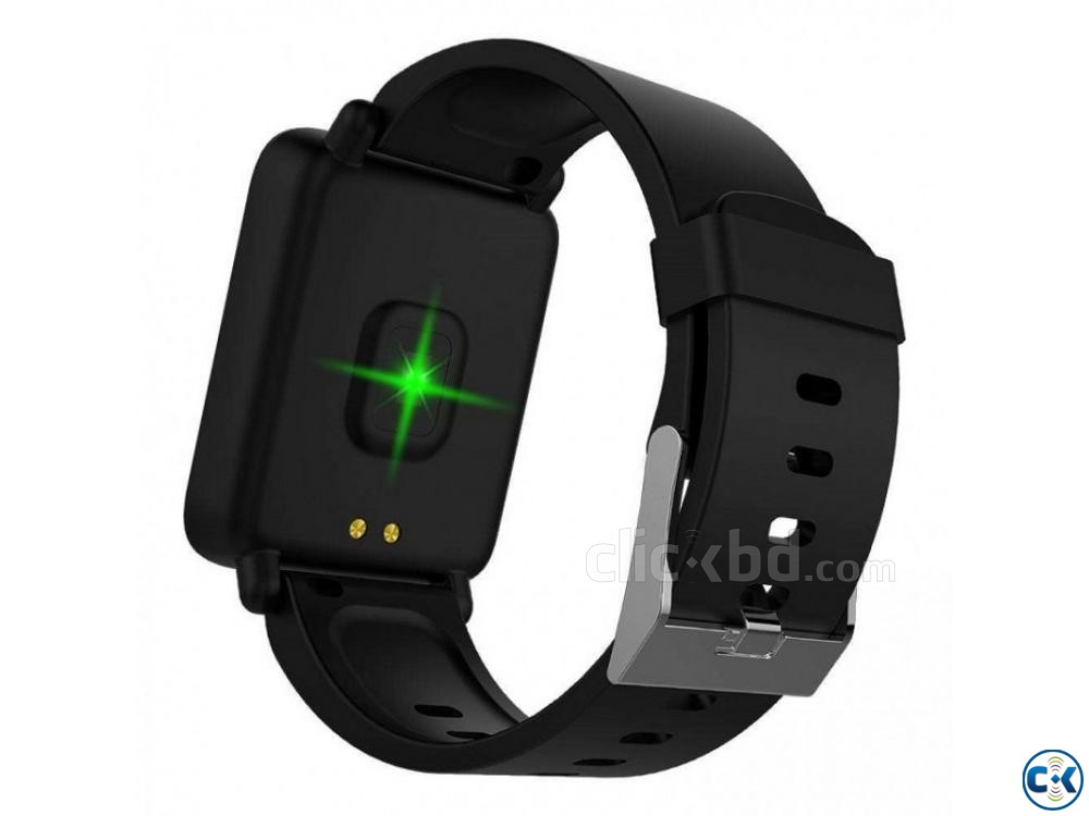 M28 Smart Watch Bluetooth Waterproof BP Heart Rate | ClickBD large image 1