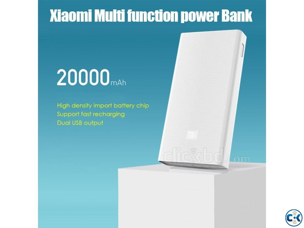 Mi 20000mAh Power Bank 2c Quick Charge 3.0 | ClickBD large image 4