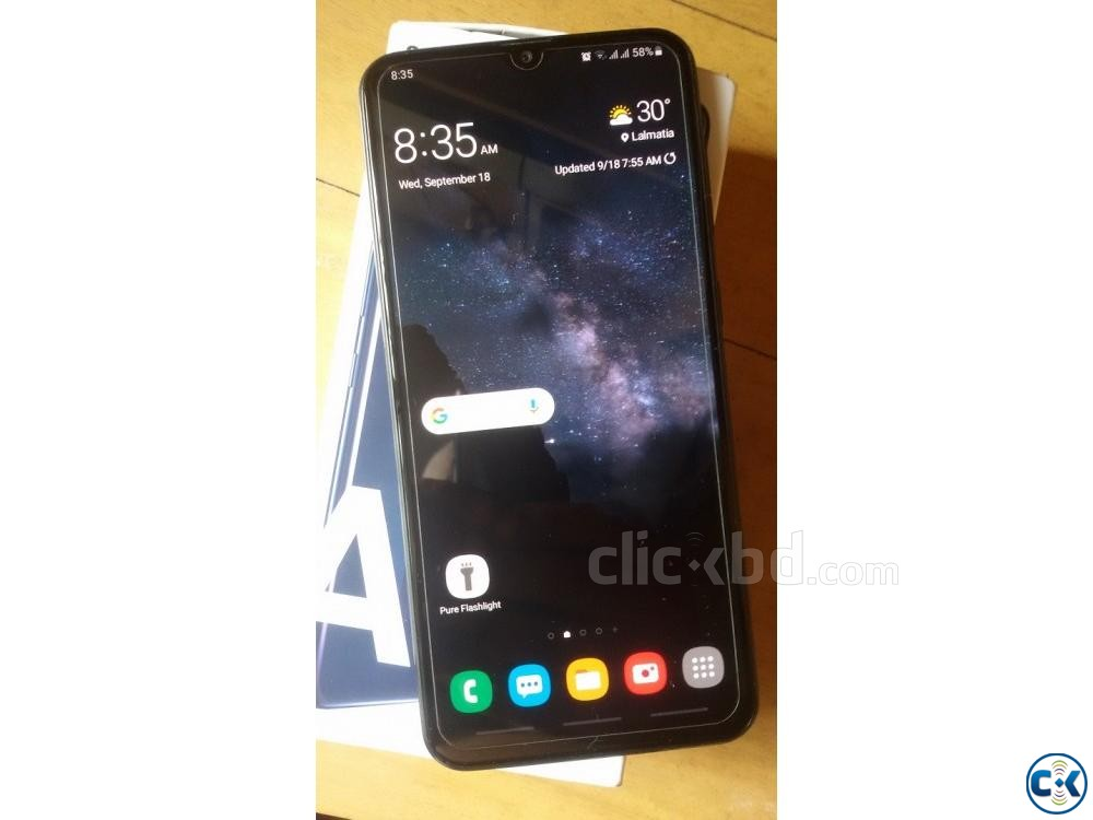 Samsung A20 with Samsung Warranty  | ClickBD large image 0