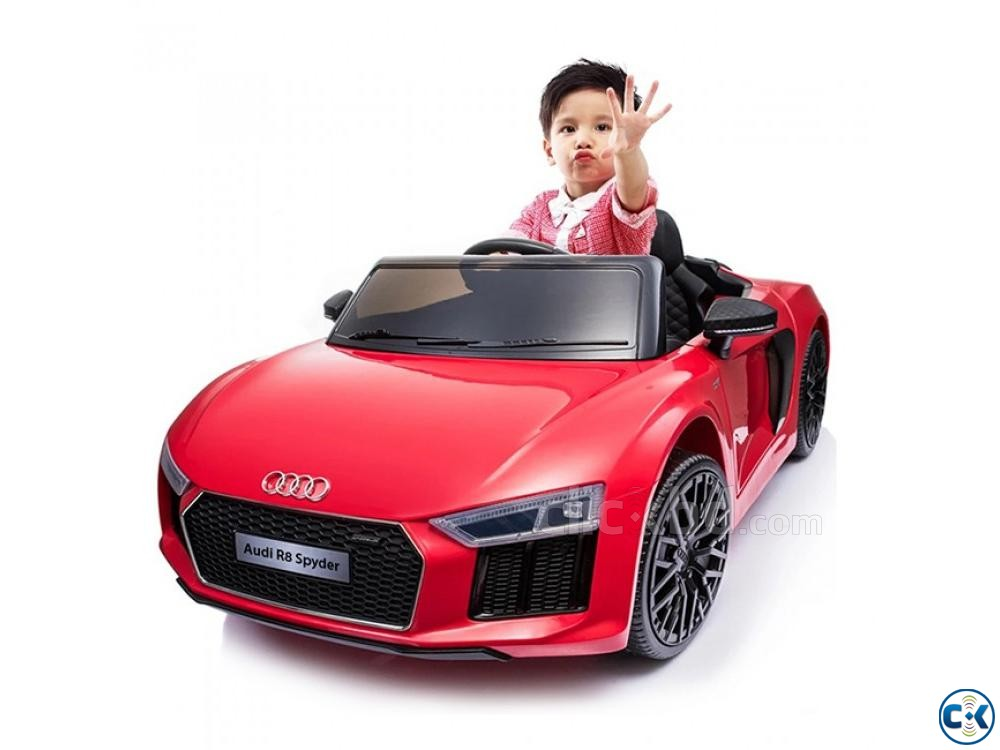 New Baby Car Ride On Baby Car Audi R8 Baby Charging Car Bike | ClickBD large image 0
