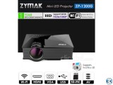 Zymak WiFi Projector 3D HD Projector Multimedia Projector