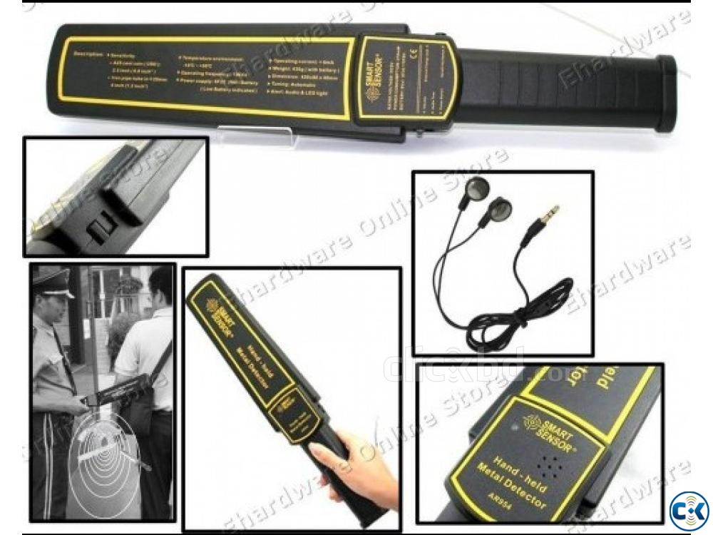 Hand-held Metal Detector | ClickBD large image 0