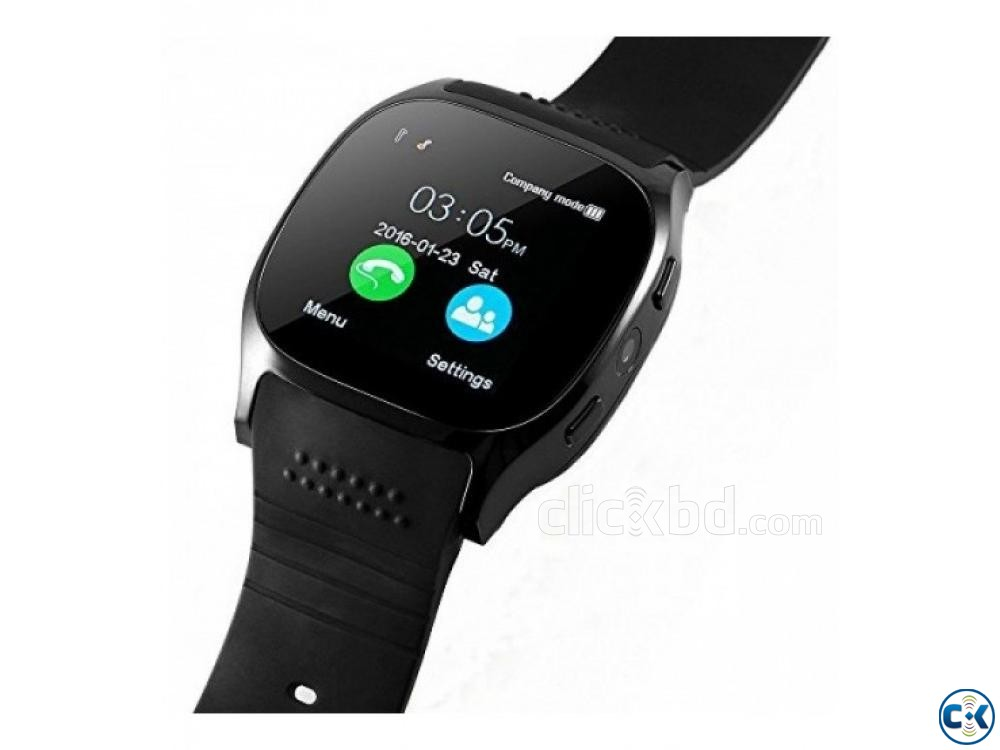 T8 Smartwatch Sim Supported Bluetooth Camera | ClickBD large image 1