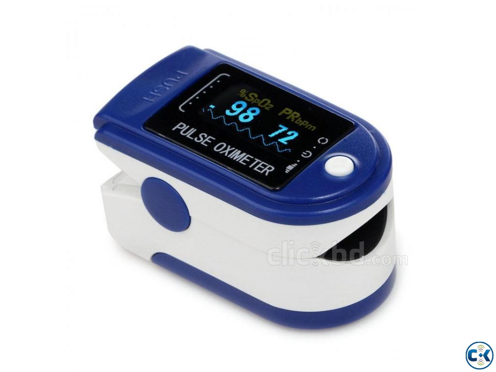 Fingertip Pulse Oximeter with LED Display | ClickBD large image 0