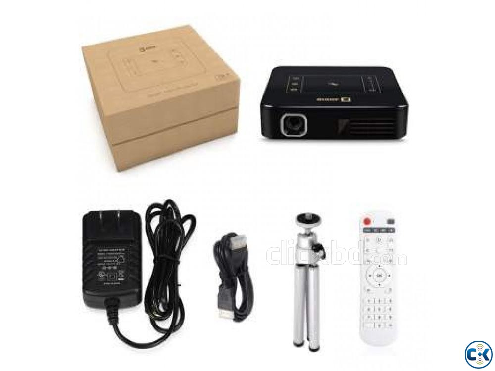Mini Pocket Projector D13 4K PRICE IN BD | ClickBD large image 0