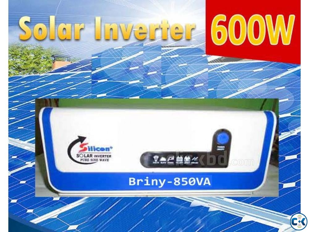 SOLAR INVERTER 600watts ONLY UNIT | ClickBD large image 0