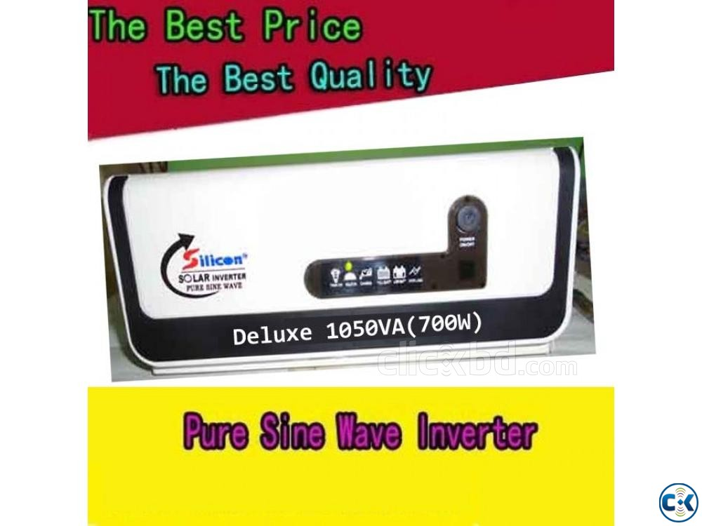 SOLAR INVERTER 700watts ONLY UNIT | ClickBD large image 0