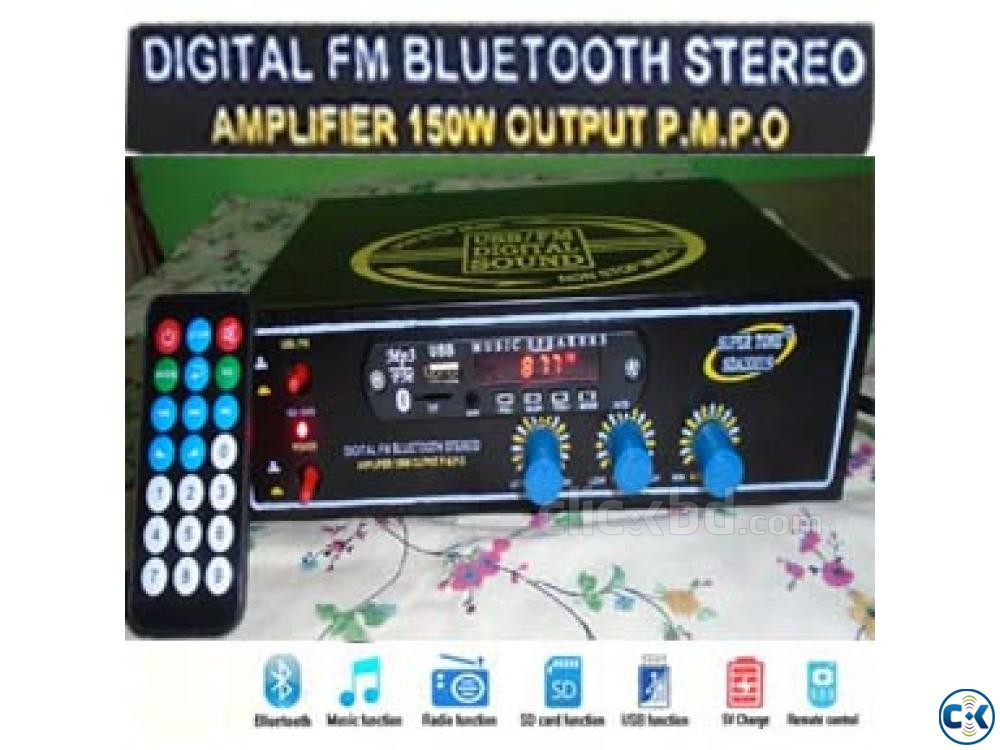 SUPER TONE Digital Bluetooth Amplifier | ClickBD large image 0