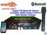 Bluetooth Amplifier WITH MOB CHARGER
