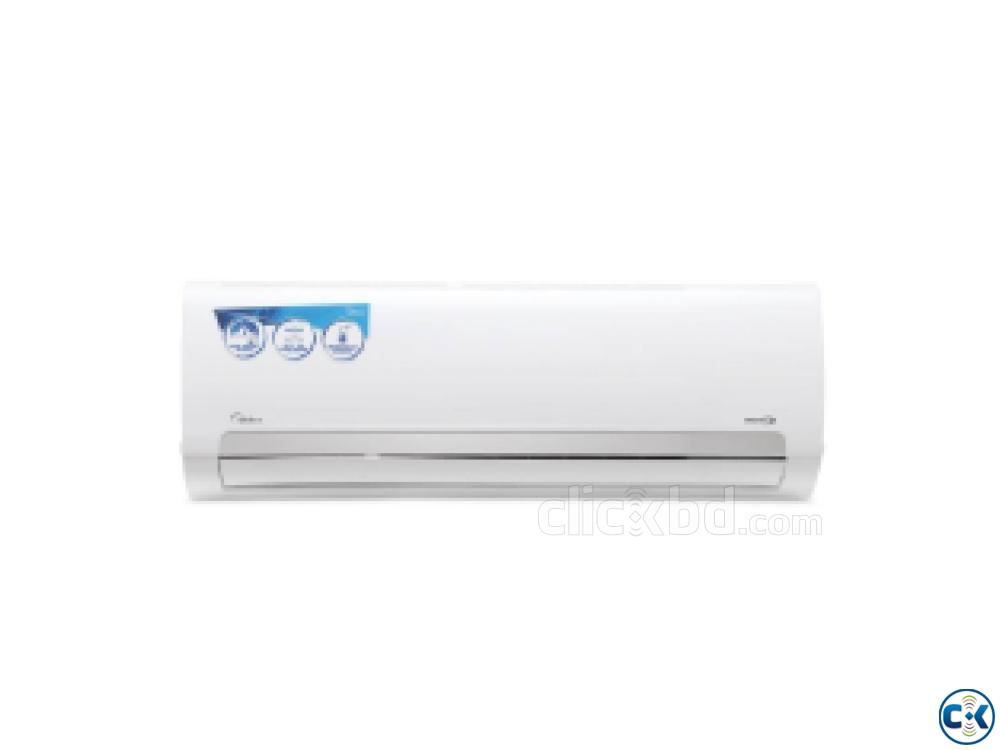 Eco Inverter Midea Hot Cool Air conditioner 1.5 ton | ClickBD large image 0