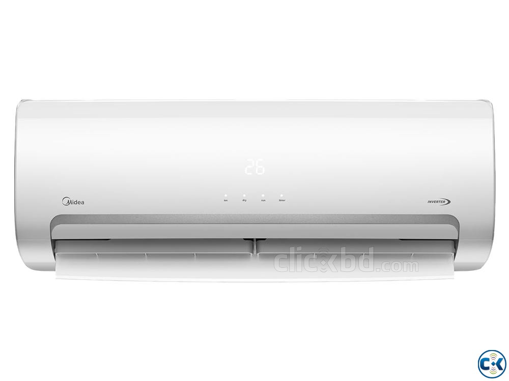 Eco Inverter Midea Hot Cool Air conditioner 1.5 ton | ClickBD large image 1