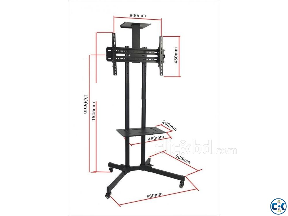 AVR D910B Adjustable 32-65 Inch TV Stand PRICE IN BD | ClickBD large image 2