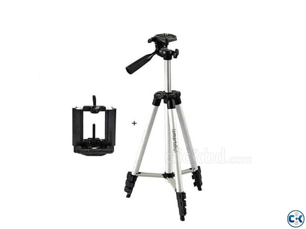 Aluminum Alloy Tripod For Camera and Mobile 3110 | ClickBD large image 0