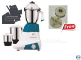 Orpat Kitchen Platinum 900-Watt Mixer Grinder 2 Free coupler