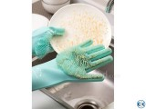 Silicone Dish Washing Kitchen Hand Glove