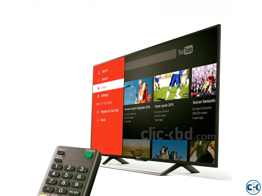 40 SONY BRAVIA FULL HD LED SMART TV | ClickBD large image 0