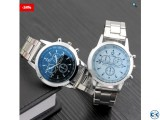 Stainless Steel Sport Quartz Watch for Mens
