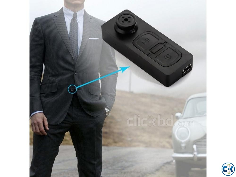 Spy Camera Button Built-in 32GB Memory with Voice Record | ClickBD large image 0