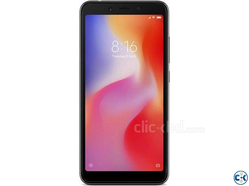 Redmi 6A Black 16 GB 2 GB RAM  | ClickBD large image 0