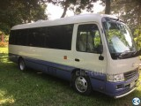 Popular coaster 29 seater bus 2012 japan coaster sale