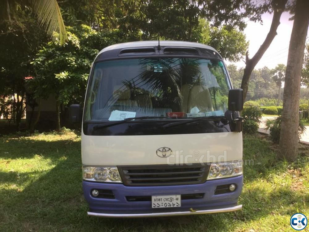 Popular coaster 29 seater bus 2012 japan coaster sale | ClickBD large image 1