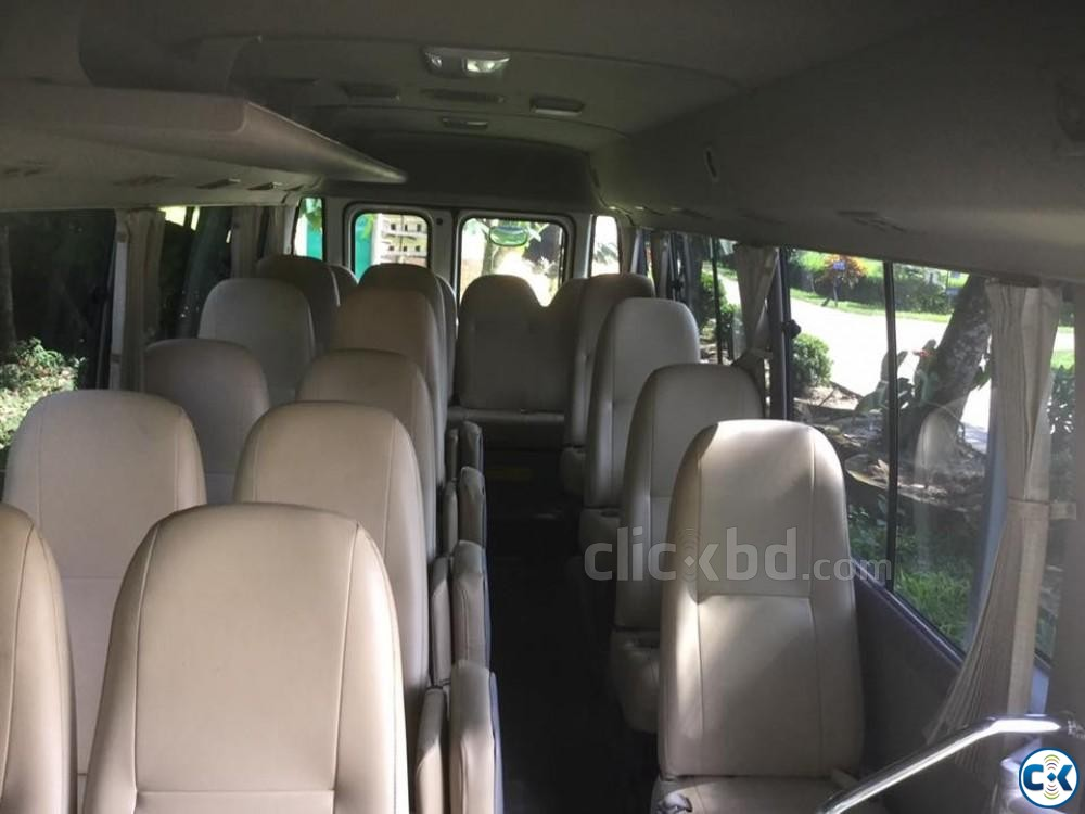 Popular coaster 29 seater bus 2012 japan coaster sale | ClickBD large image 4