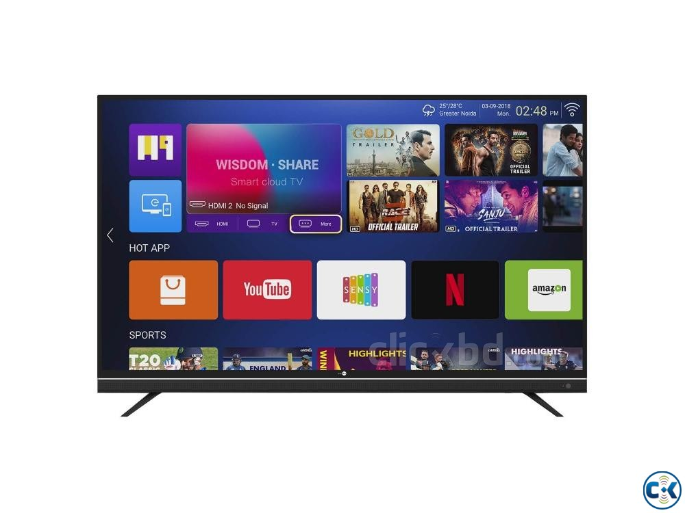 New China 40 inch LED Television BD Price | ClickBD large image 1
