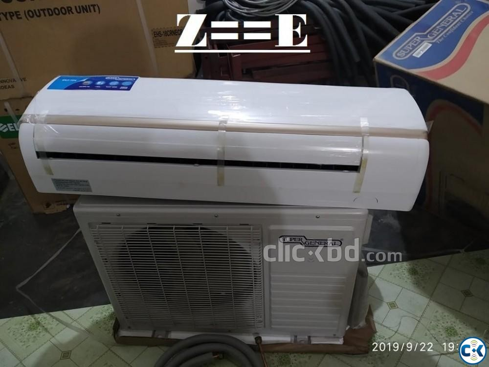 SUPER General 1.5 Ton Split AC Price in Bangladesh | ClickBD large image 0