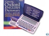 Seiko Concise Oxford Dictionary Thesaurus and Spellchecker