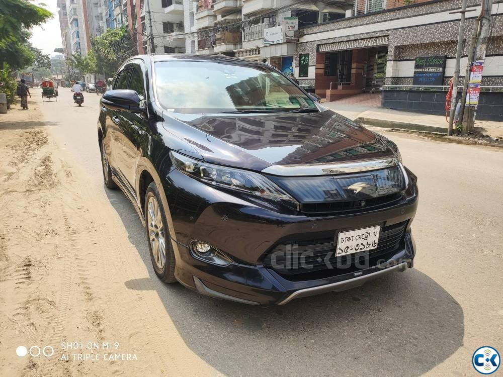 Toyota Harrier 2016 Advance Premium Package Hard Jeep  | ClickBD large image 0