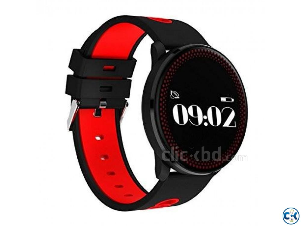 Cf007 Smart Watch Fitness Tracker Blood Pressure Heart Rate | ClickBD large image 1
